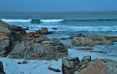 Art Print featuring the photograph Rocky Shores by Renee Hardison