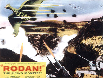 Fid Photograph - Rodan, Aka Rodan The Flying Monster by Everett