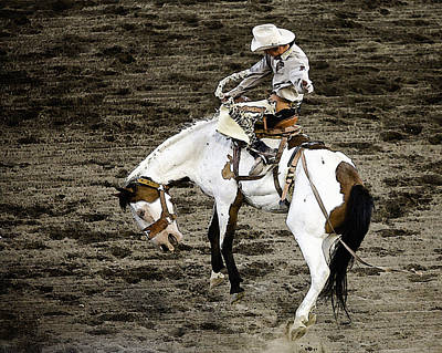 Sports Illustrated Photograph - Rodeo 2 by Wendy White