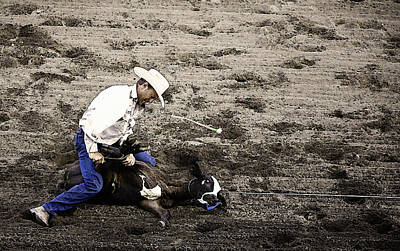 Sports Illustrated Photograph - Rodeo 3 by Wendy White