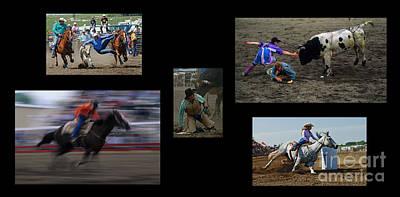 Rodeo Magic No Caption Art Print by Bob Christopher