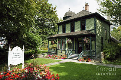 Roedde House Museum Vancouver Canada Art Print