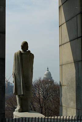 Photograph - Roger Williams And His Capitol by Barry Doherty