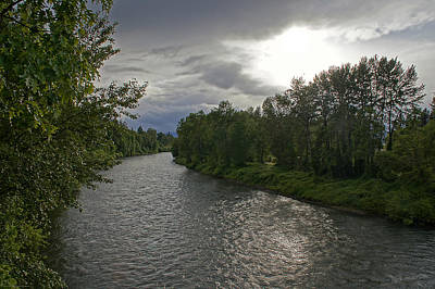 Rogue River In May Art Print