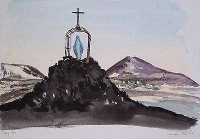 Roll Cage Mary Of Antarctica Original by Carolyn Doe