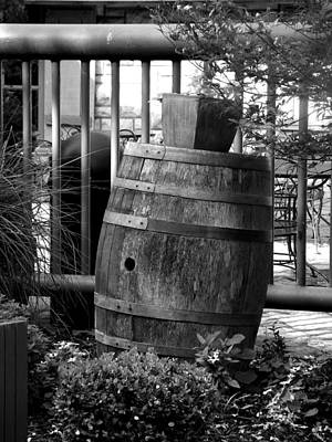 Roll Out The Barrel Art Print by Shelley Blair