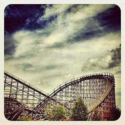 Dutch Photograph - Roller Coaster troy by Wilbert Claessens