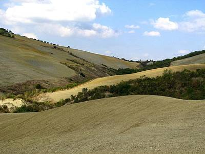 Photograph - Rolling Hills Of Letraverse by Diane Height