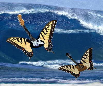 Digital Art - Rolling In The Deep  by Eric Kempson