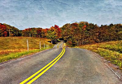 Studio Graphika Literature - Rolling Into Autumn painted by Steve Harrington