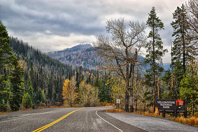 Photograph - Rolling Into Yellowstone by Kelly Reber