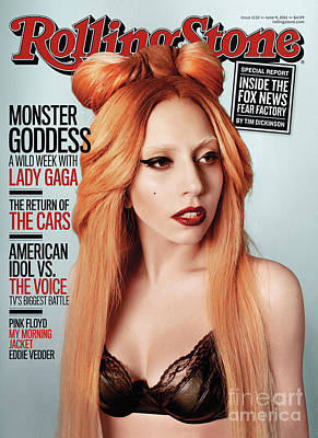 Lady Wall Art - Photograph - Rolling Stone Cover - Volume #1132 - 6/9/2011 - Lady Gaga by Ryan McGinley