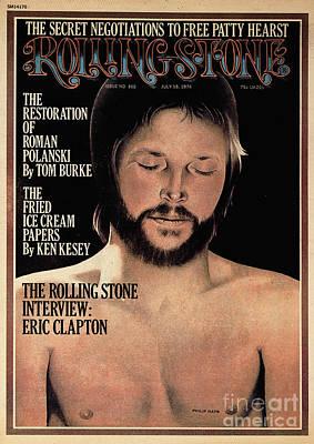 Rolling Stone Cover - Volume #165 - 7/18/1974 - Eric Clapton Art Print