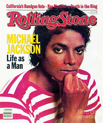 Michael Jackson Wall Art - Photograph - Rolling Stone Cover - Volume #389 - 2/17/1983 - Michael Jackson by Bonnie Schiffman