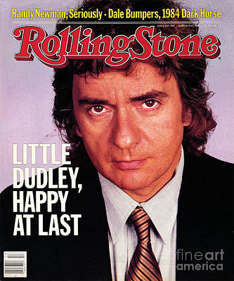 Moore Wall Art - Photograph - Rolling Stone Cover - Volume #392 - 3/31/1983 - Dudley Moore by Bonnie Schiffman
