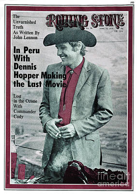 Hopper Wall Art - Photograph - Rolling Stone Cover - Volume #56 - 4/16/1970 - Dennis Hopper by Michael Anderson Jr.