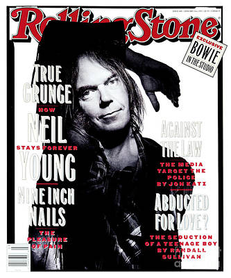 Neil Young Wall Art - Photograph - Rolling Stone Cover - Volume #648 - 1/21/1993 - Neil Young  by Mark Seliger