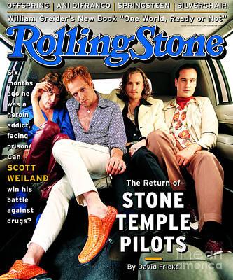 Rolling Stone Cover - Volume #753 - 2/23/1997 - Stone Temple Pilots Art Print