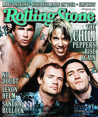 Red Hot Chili Peppers Wall Art - Photograph - Rolling Stone Cover - Volume #839 - 4/27/2000 - Red Hot Chili Peppers  by Martin Schoeller