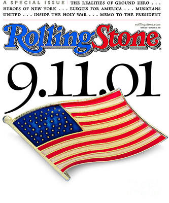 9-11 Wall Art - Photograph - Rolling Stone Cover - Volume #880 - 10/25/2001 - 9 11 01 by Davies and Starr