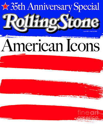 America Wall Art - Photograph - Rolling Stone Cover - Volume #922 - 5/15/2003 - American Icons by Andy Cowles