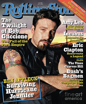 Ben Affleck Wall Art - Photograph - Rolling Stone Cover - Volume #945 - 4/1/2004 - Ben Affleck by David LaChapelle