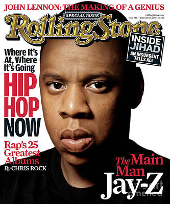 Jay Z Wall Art - Photograph - Rolling Stone Cover - Volume #989 - 12/15/2005 - Jay-z by Albert Watson