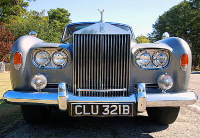 Photograph - Rolls Royce by Joy Tudor