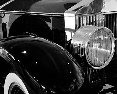 Photograph - Rolls Royce by Michael Friedman