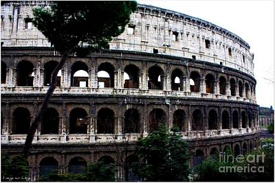 Photograph - Roma Antica  Il Colosseo by Mariana Costa Weldon