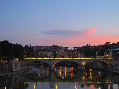 Roma Sunset Art Print by Tia Anderson-Esguerra