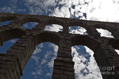 Roman Aqueduct Segovia Art Print by Scotts Scapes