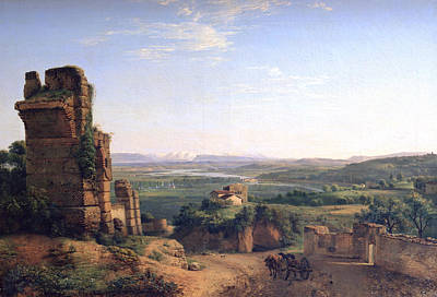 Photograph - Roman Aqueducts Seen On The Slopes Of Saint Just by Photos.com