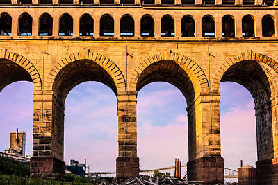 Photograph - Roman Arches by Semmick Photo