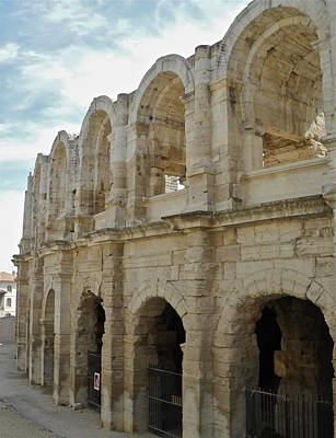Photograph - Roman Coliseum In Arles by Kirsten Giving