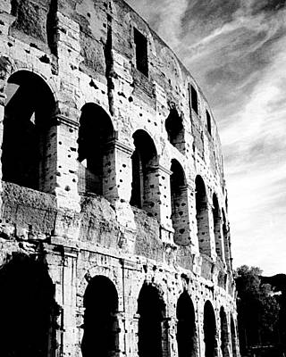 Photograph - Roman Colosseum by Donna Proctor