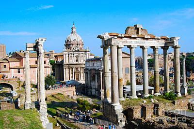 Photograph - Roman Forum I by Eva Kaufman