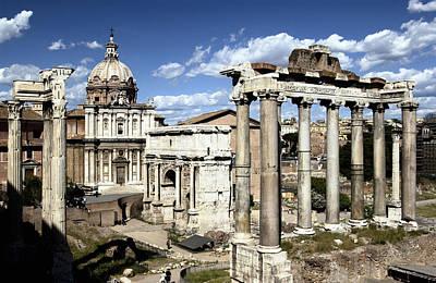 Roman Forum, Rome, Italy Art Print