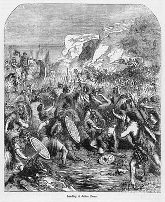 Roman Invasion Of Britain Art Print by Granger