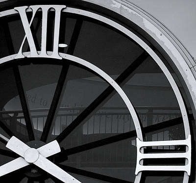 Janet Smith Photograph - Roman Numeral Clock by Janet Smith