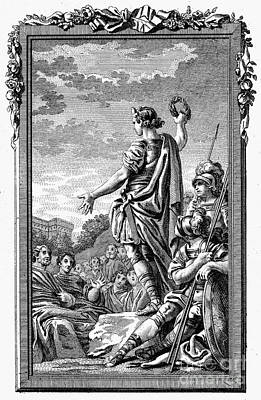 Roman Orator Art Print by Granger