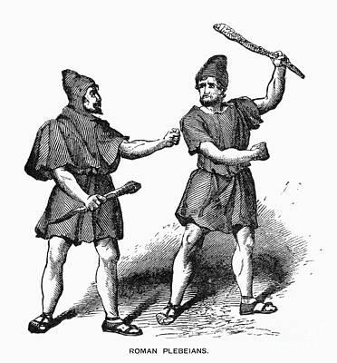 Roman Plebeians Art Print by Granger