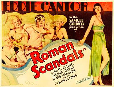 Posth Photograph - Roman Scandals, Eddie Cantor, 1933 by Everett