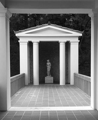 Roman Shrine  Art Print by Paul Washington