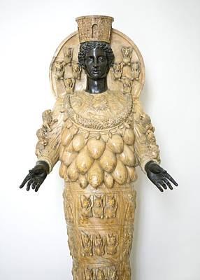 Fertility Symbols Wall Art - Photograph - Roman Statue Of Artemis by Sheila Terry