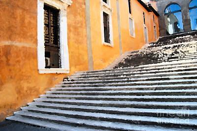 Photograph - Roman Steps by Eva Kaufman