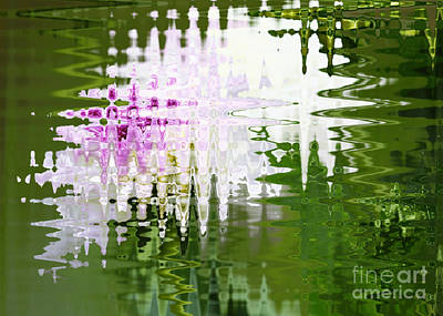 Abstracts From Nature Photograph - Romance In Paris - Abstract Art by Carol Groenen