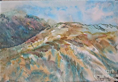 Phong Trinh Painting - Romancing The Cloud by Phong Trinh