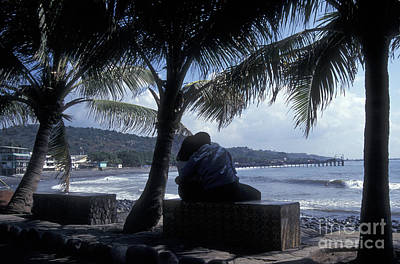 Photograph - Romantic Beach Scene La Libertad El Salvador by John  Mitchell