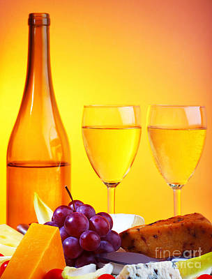 Table Wine Photograph - Romantic Dinner by Anna Om